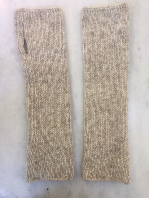 6-ply Wristwarmer | Donegal Natural