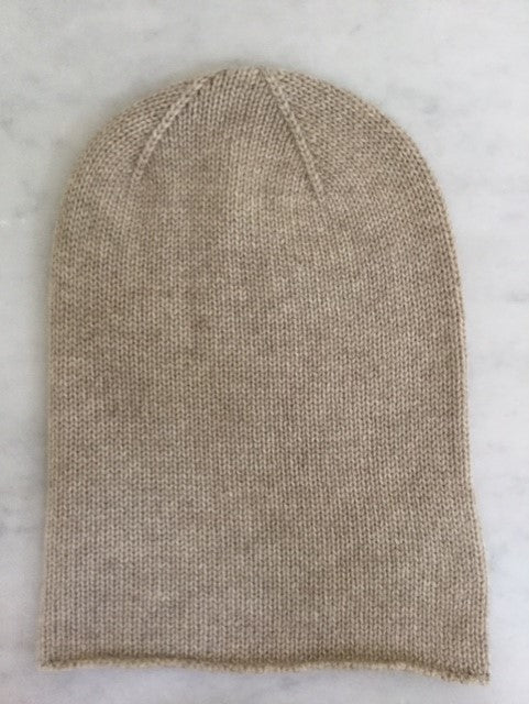 6-ply Beanie | Dark Natural