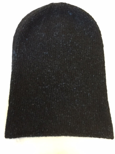 6-ply Beanie | Donegal Navy