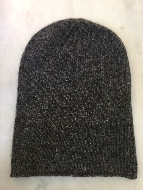 6-ply Beanie | Donegal Dark Grey