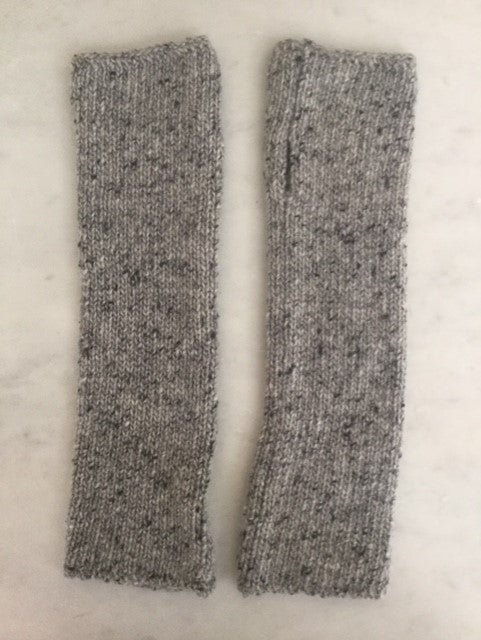 6-ply Wristwarmer | Donegal Grey