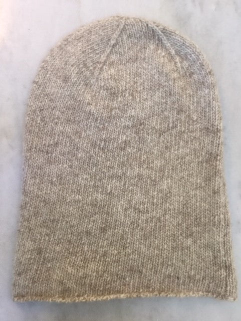 6-ply Beanie | Donegal Natural