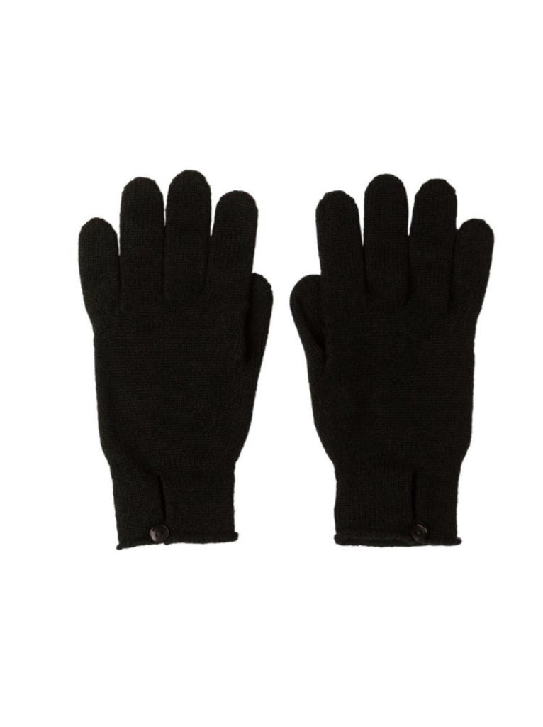 Button Loop Womens Cashmere Gloves