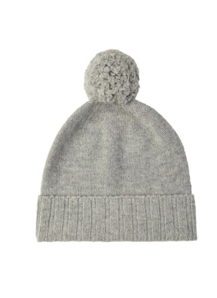Cashmere Beanies | Silver