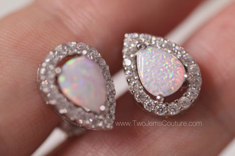 Le Opal Earrings