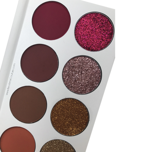 Burgundy Mermaid Palette