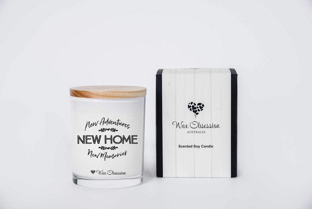 Quote Candle - New Home