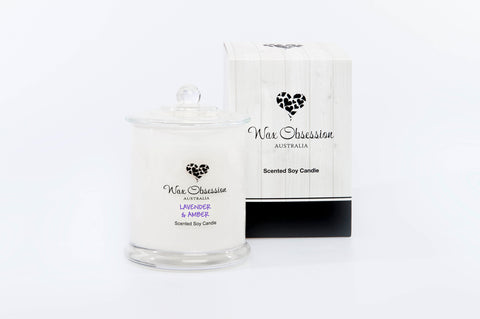 Lavender & Amber Large Candle