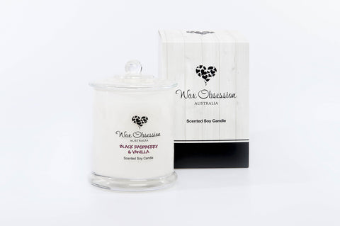 Black Raspberry & Vanilla Large Candle