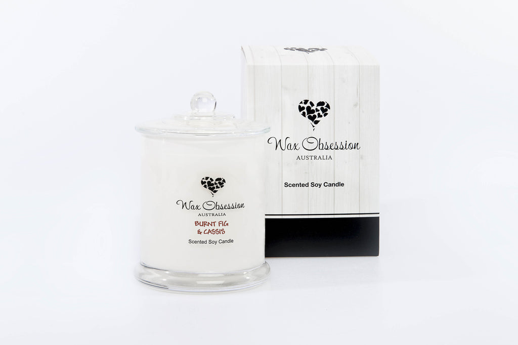 Burnt Fig & Cassis Large Candle