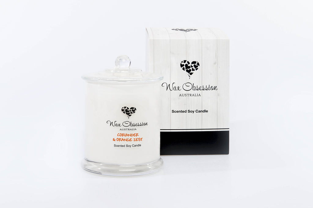Coriander & Orange Zest Large Candle
