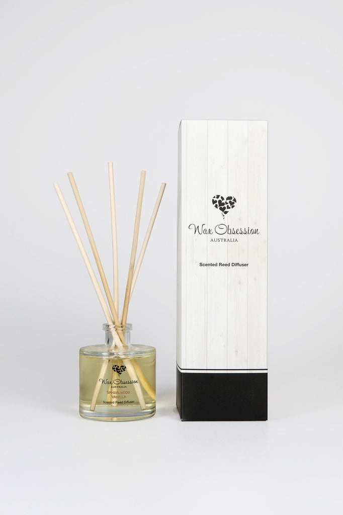 Sandalwood Vanilla Reed Diffuser - OUT OF STOCK