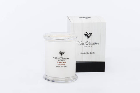 Burnt Fig & Cassis Small Candle