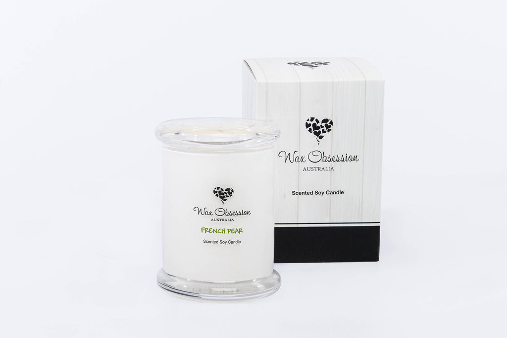 French Pear Small Candle