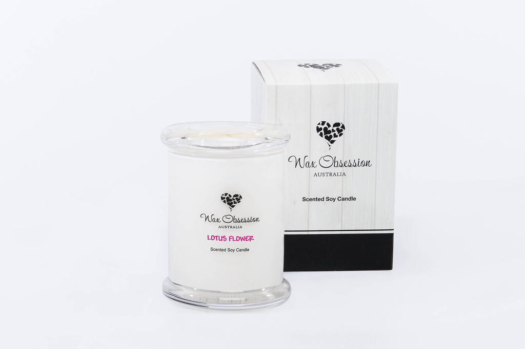 Lotus Flower Small Candle