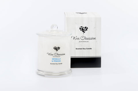 Waterlily & Jasmine Large Candle