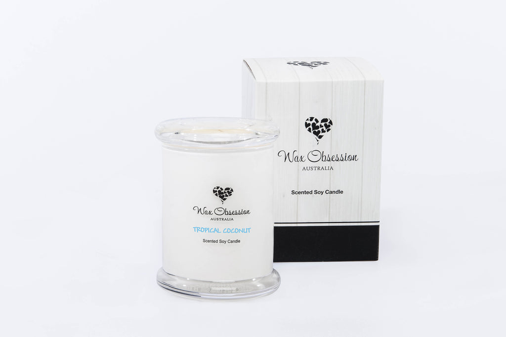Tropical Coconut Small Candle