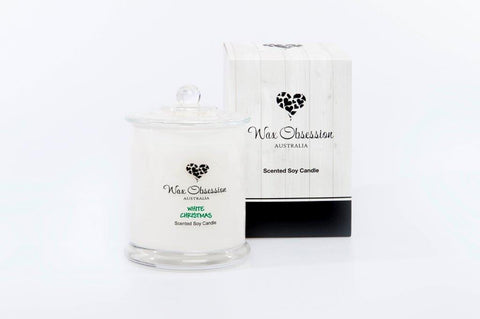 White Christmas Large Candle - SOLD OUT