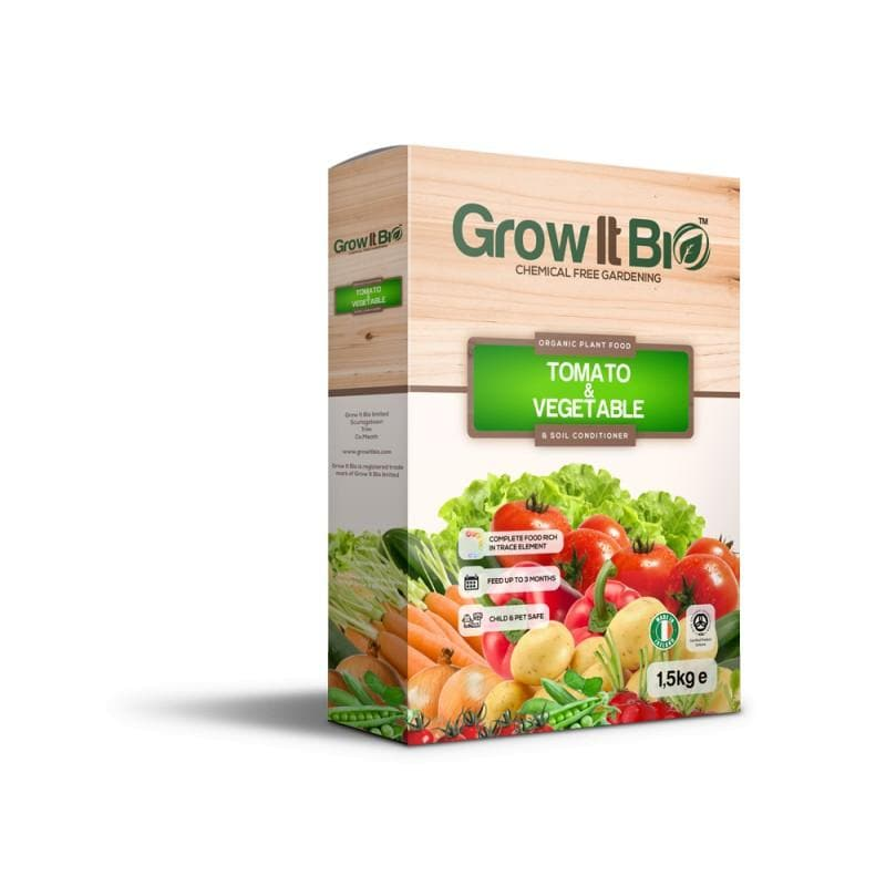 Grow It Bio™ Tomato & Vegetable | Organic Plant Food