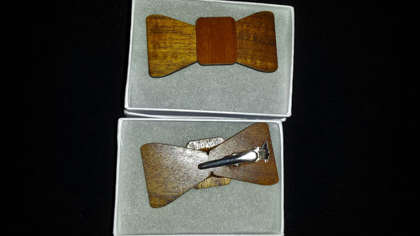 Koa Hair Clip - Hawaii Bookmark