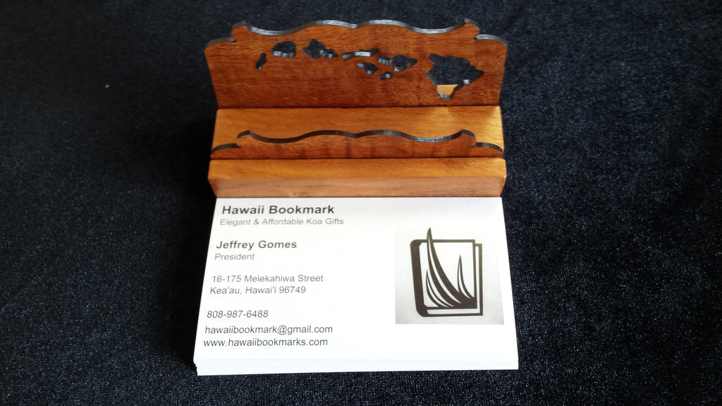 Business Card Holder - Hawaii Bookmark