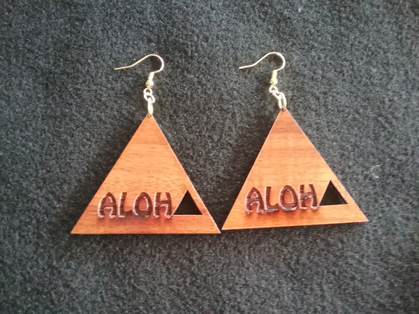 Aloha Koa Earrings