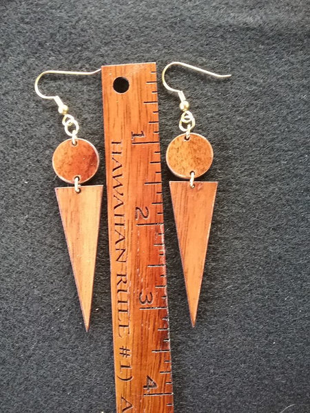 'Oko'a Koa Earrings