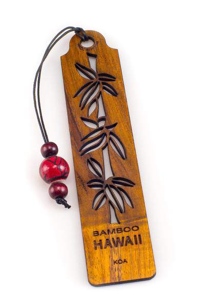 Bamboo Koa Bookmark