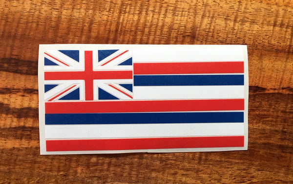 Hawaiian Flag Decal - Hawaii Bookmark