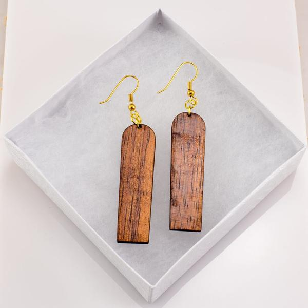 Alaia Koa Earrings