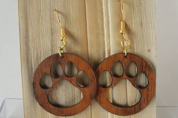 Ipo Koa Earrings
