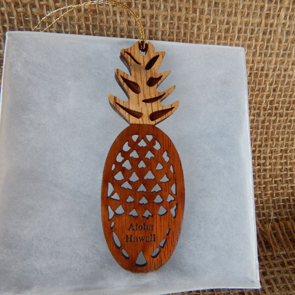 Aloha Hawaii Pineapple - Hawaii Bookmark