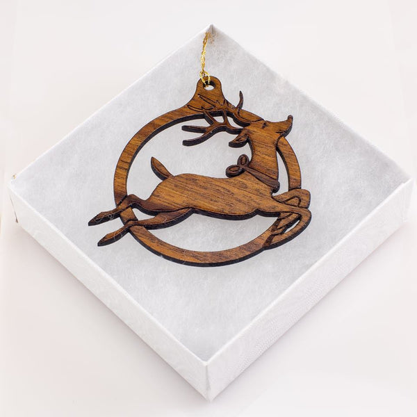 Hawaiian Reindeer Ornament
