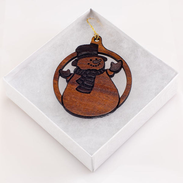 Hawaiian Snowman Ornament