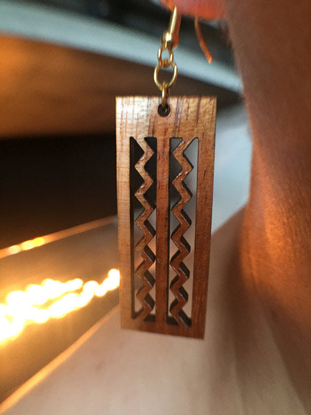 Wailuku Li'i Koa Earrings