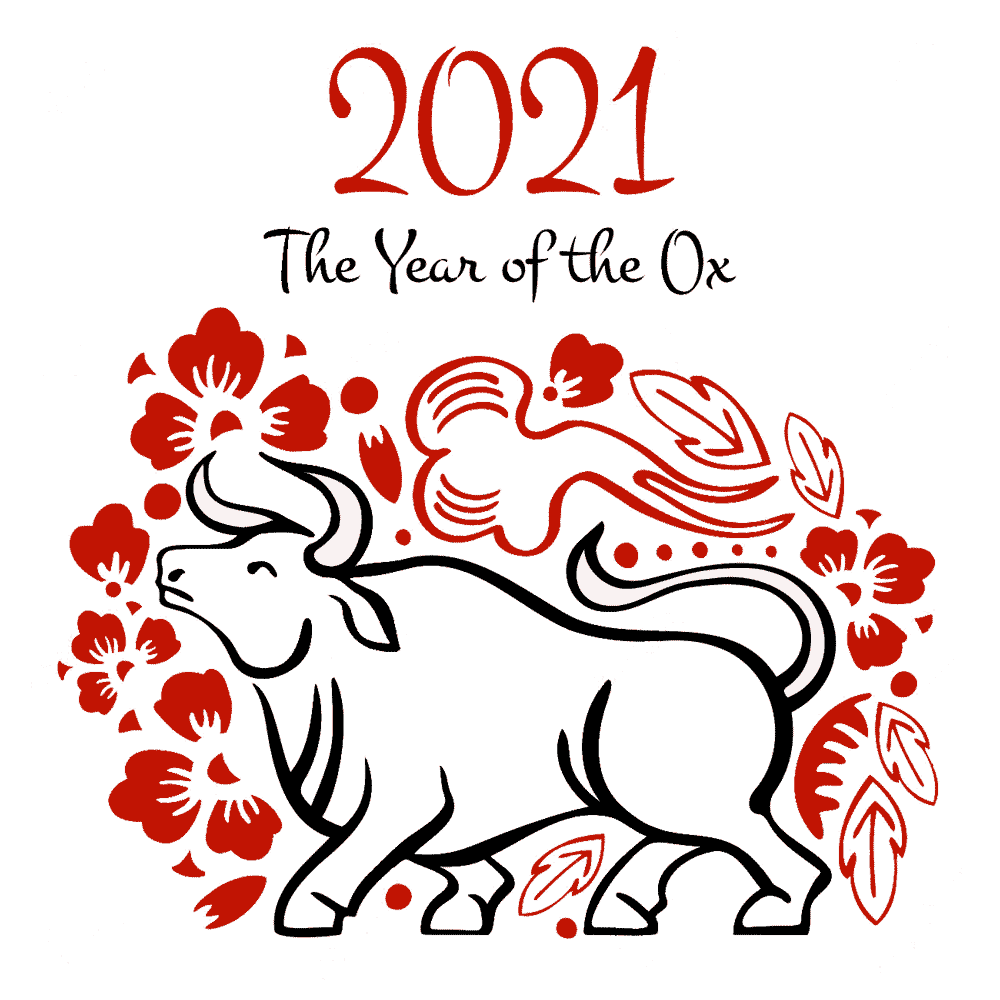 Year of the Ox 2021 Artwork