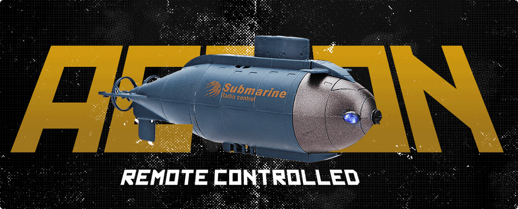 RC Action Submarine