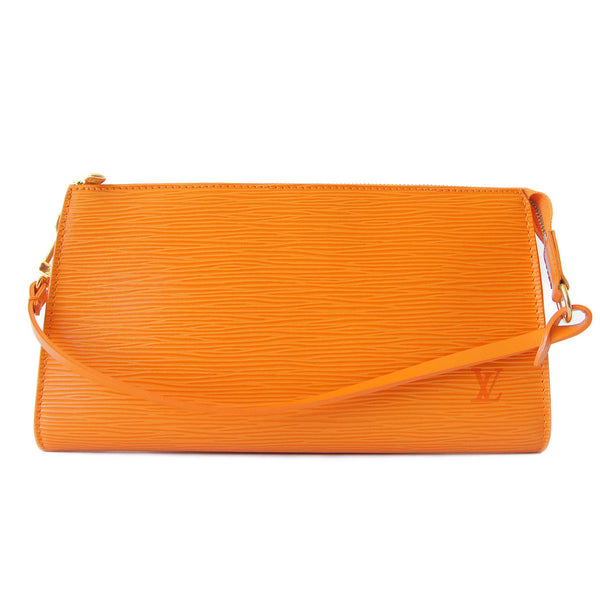 Louis Vuitton Epi Pochette Accessories Mandarin strap down