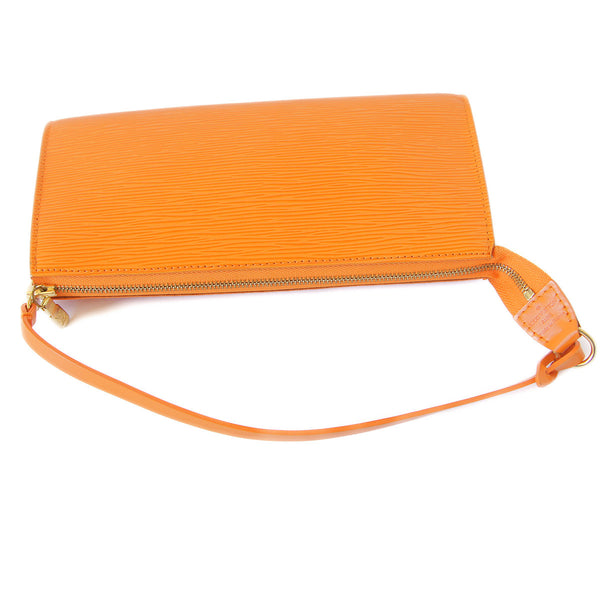 Louis Vuitton Epi Pochette Accessories Mandarin top