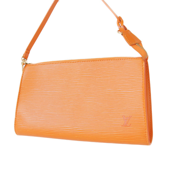 Louis Vuitton Epi Pochette Accessories Mandarin