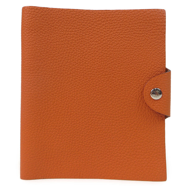 Hermes Ulysse Agenda PM Orange Diary Case front