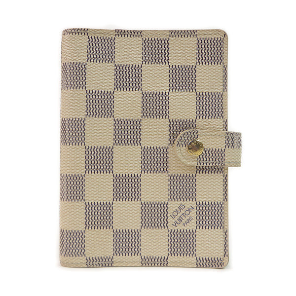 Louis Vuitton Damier Azur Agenda PM Diary Case