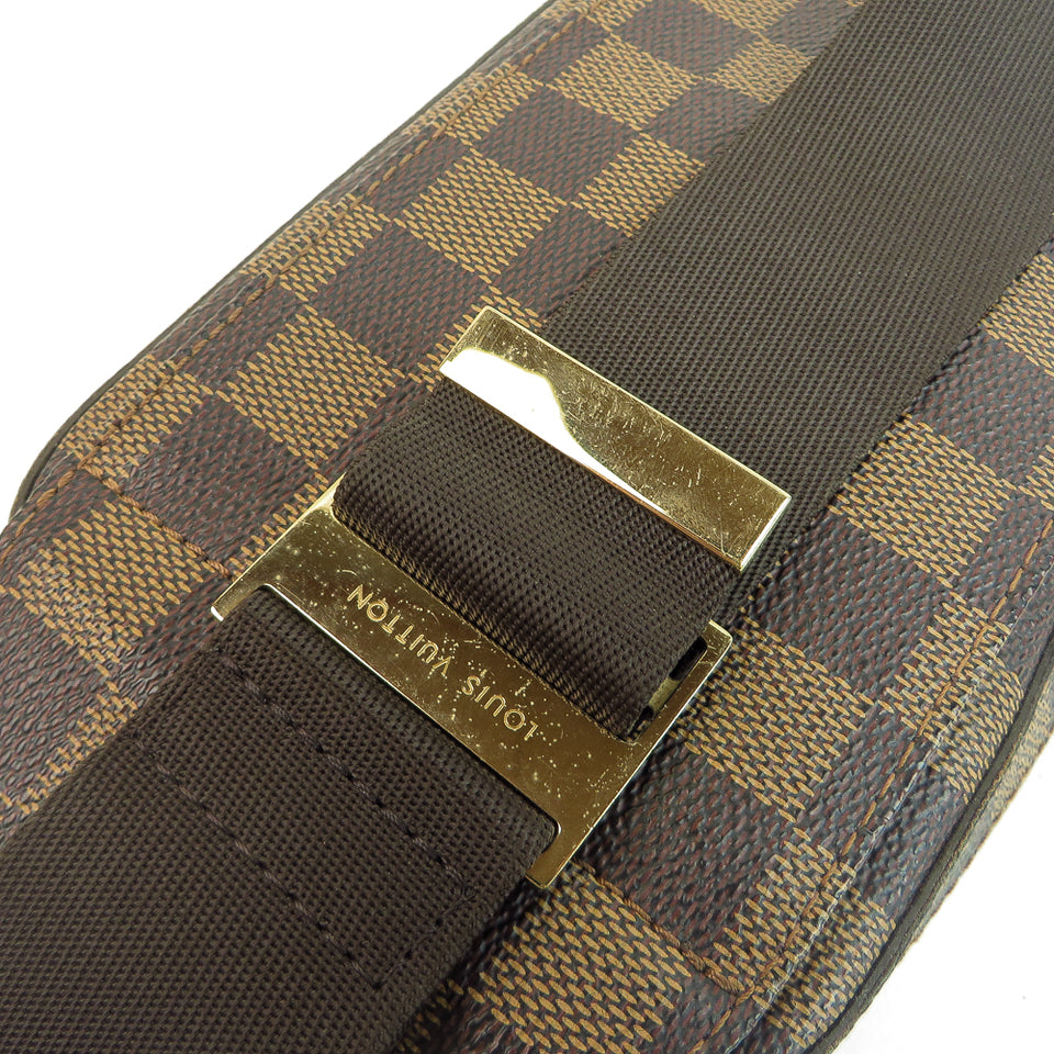 Louis Vuitton Damier Ebene Geronimos Waist Bag