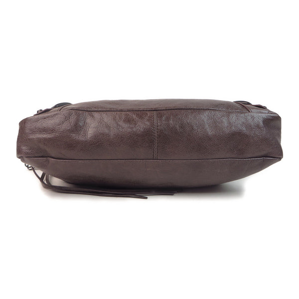 Balenciaga Agneau Classic First Chocolate bottom