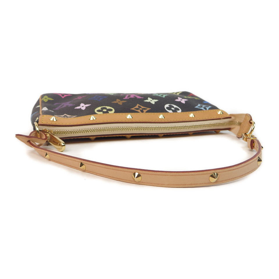 Louis Vuitton Multicolor Pochette Accessories Black top
