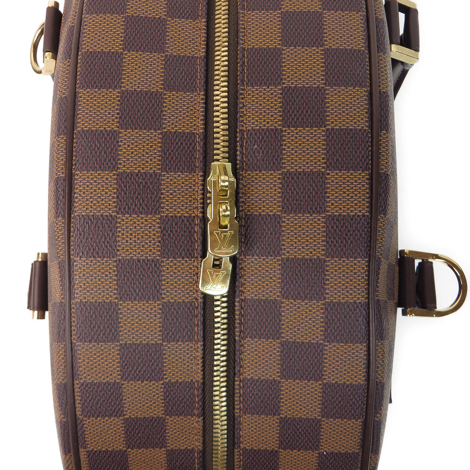Louis Vuitton Damier Ebene Nolita 24 Heures Duffle Bag ZIPPER