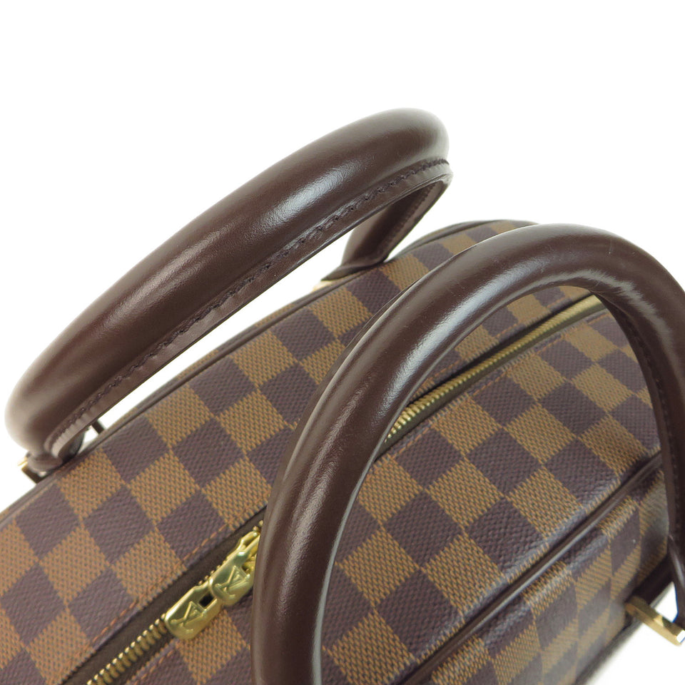 Louis Vuitton Damier Ebene Nolita 24 Heures Duffle Bag HANDLE