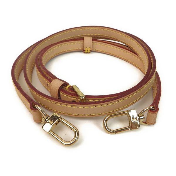 Louis Vuitton Plain Leather Shoulder Strap FRONT