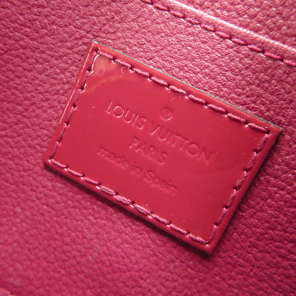 Louis Vuitton Vernis Cosmetic Pouch Magenta TAG