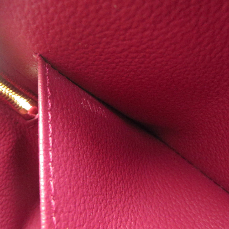 Louis Vuitton Vernis Cosmetic Pouch Magenta DATE CODE